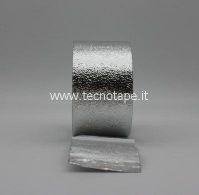 Nastro adesivo in alluminio goffrato