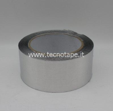 Nastro adesivo in alluminio liscio