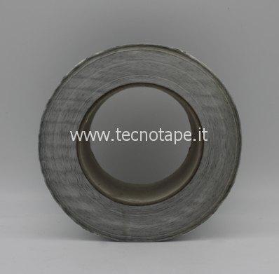 Nastro adesivo in alluminio retinato