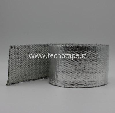Nastri e tessuti in fibra di vetro alluminizzati